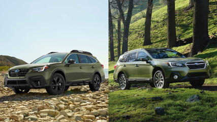 Subaru Outback Side By Side
