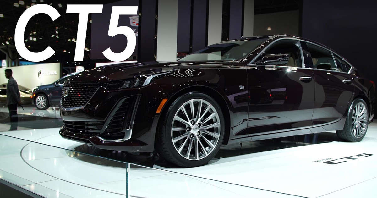 2019 New York Auto Show: 2020 Cadillac CT5