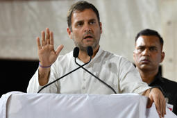 Rahul meets Kerala tribal woman who cracked civil service exams