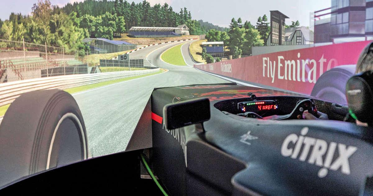 e68c1cfc0599 Virtual insanity  Driving Aston Martin s Valkyrie simulator