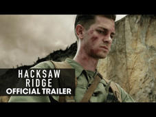 Hacksaw Ridge – Now Playing! Get Tickets: http://lions.gt/hacksawridgetickets Starring Andrew Garfield, Sam Worthington, Luke Bracey, Teresa Palmer, Hugo Weaving, Rachel Griffiths and Vince Vaughn.  #HacksawRidge  http://www.HacksawRidge.Movie http://www.Facebook.com/HacksawRidge http://www.Twitter.com/HacksawRidge http://www.Instagram.com/HacksawRidge   HACKSAW RIDGE is the extraordinary true story of Desmond Doss [Andrew Garfield] who, in Okinawa during the bloodiest battle of WWII, saved 75 men without firing or carrying a gun. He was the only American soldier in WWII to fight on the front lines without a weapon, as he believed that while the war was justified, killing was nevertheless wrong. As an army medic, he single-handedly evacuated the wounded from behind enemy lines, braved fire while tending to soldiers and was wounded by a grenade and hit by snipers. Doss was the first conscientious objector awarded the Congressional Medal of Honor.