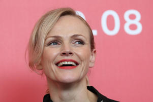 "The 75th Venice International Film Festival - Photocall for the film ""Peterloo"" competing in the Venezia 75 section - Venice, Italy, September 1, 2018 - Cast member Maxine Peake. REUTERS/Tony Gentile"
