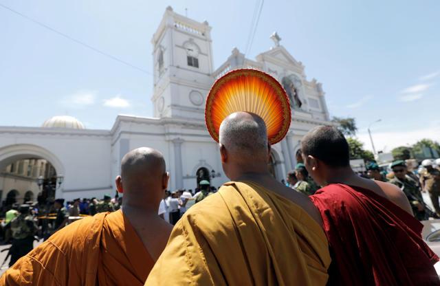 Slide 2 de 11: Ataques no Sri Lanka