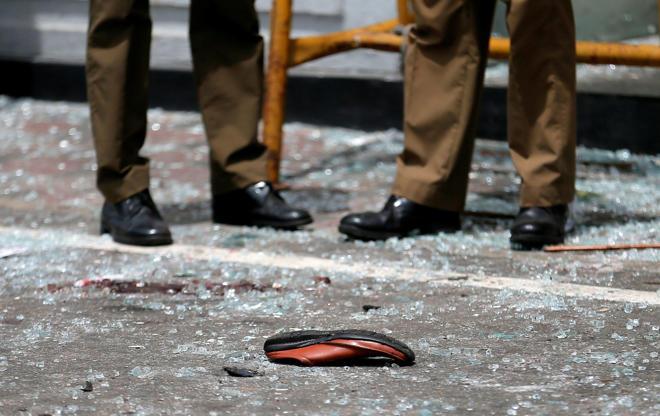 Slide 4 de 11: Ataques no Sri Lanka