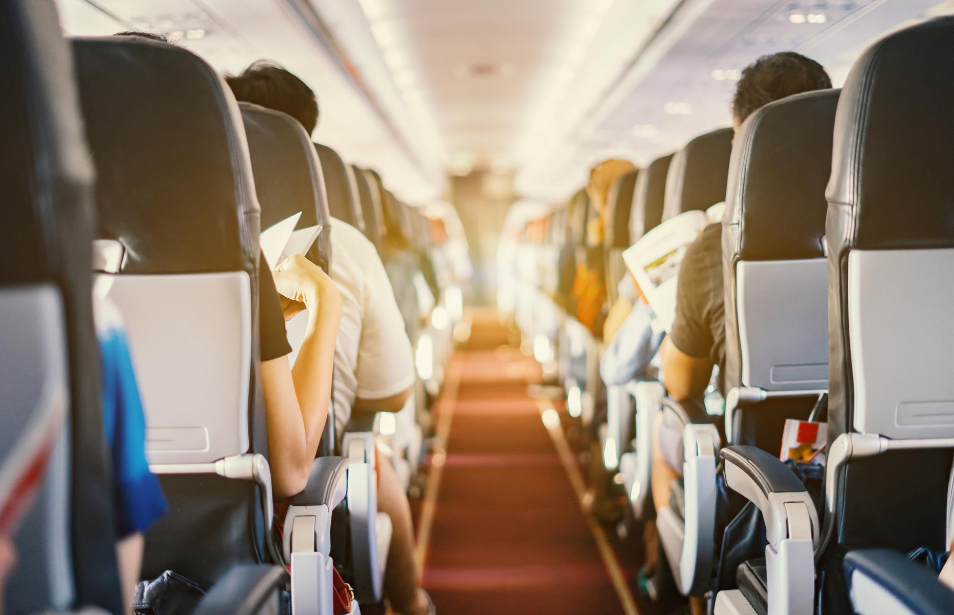 """Slide 8 of 63: The quality of cabin air has been a point of hot dispute for some time. Though most airlines insist there are no risks associated with breathing cabin air,some studies, including safety reports from the CAA, suggest otherwise. The air you breathe on board contains """"bleed air"""", which is taken from a turbine engine, compressed and conditioned, and pumped into the cabin. Some argue that it can become contaminated with chemicals which contribute to a range of health issues. The debate continues."""