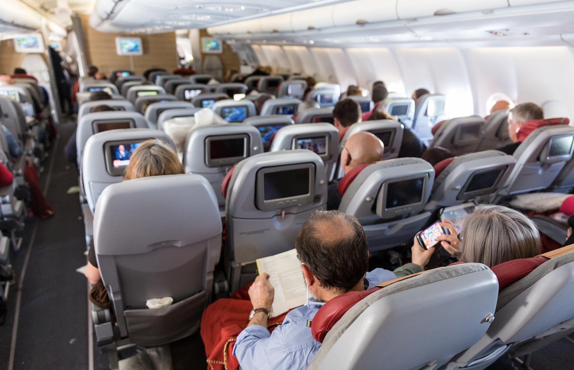 Slide 5 of 63: According to travel expertSimon Calder, flights are overbooked in order to keep fares down. The thinking is that customers regularly don't show up for flightsso overbooking is an easy way for the airline to make extra profit. It's also worse for the environment when planes fly at less than capacity. Theoretically, if the flight is blown(more customers than seats), the airline can offer incentives to passengers who don't mind volunteering to give up their spot. But some recent high profile cases have seenpassengers dragged offoverbooked flights.