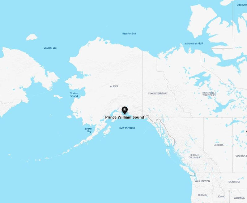 Small earthquake hits Alaska's Prince William Sound region