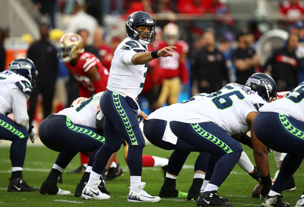 Seahawks' Wilson gifts $12K worth of Amazon stock to his linemen