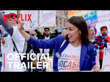 a group of people around each other: Follow the stories of four inspiring women who took on history in the 2018 midterm election. Knock Down The House, only on Netflix May 1.  Watch Knock Down The House, only on Netflix: https://www.netflix.com/title/81080637  SUBSCRIBE: http://bit.ly/29qBUt7  About Netflix: Netflix is the world's leading internet entertainment service with 130 million memberships in over 190 countries enjoying TV series, documentaries and feature films across a wide variety of genres and languages. Members can watch as much as they want, anytime, anywhere, on any internet-connected screen. Members can play, pause and resume watching, all without commercials or commitments.  Connect with Netflix Online: Visit Netflix WEBSITE: http://nflx.it/29BcWb5 Like Netflix Kids on FACEBOOK: http://bit.ly/NetflixFamily Like Netflix on FACEBOOK: http://bit.ly/29kkAtN Follow Netflix on TWITTER: http://bit.ly/29gswqd Follow Netflix on INSTAGRAM: http://bit.ly/29oO4UP Follow Netflix on TUMBLR: http://bit.ly/29kkemT  Knock Down The House | Official Trailer | Netflix http://youtube.com/netflix  Go behind the scenes as four determined women -- including Alexandria Ocasio-Cortez -- challenge big-money politicians in the 2018 race for Congress.