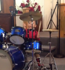 This 2-year-old is already an incredible drummer