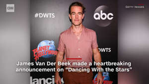 James Van Der Beek makes emotional announcement on 'DWTS'