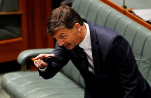 Angus Taylor is in the national spotlight for all the wrong reasons.