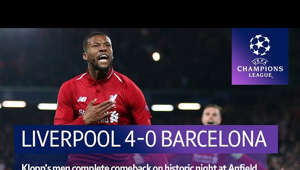 a screen shot of a man: Nothing is impossible. Liverpool overturned a 3-0 first leg deficit in unbelievable fashion as goals from Divock Origi and Georginio Wijnaldum sparked wild scenes at Anfield.  Watch the Champions League final live on BT Sport.  Subscribe to our YouTube channel for the best videos from BT Sport  ➡️ http://bit.ly/17YTeL5  Subscribe to our 'BT Sport Boxing' YouTube channel ➡️ http://www.youtube.com/c/btsportboxing  Twitter: http://twitter.com/btsport Facebook: http://www.facebook.com/btsport Instagram:http://instagram.com/btsport Website: http://sport.bt.com  Twitter: http://twitter.com/btsport Facebook: http://www.facebook.com/btsport Instagram:http://instagram.com/btsport Website: http://sport.bt.com