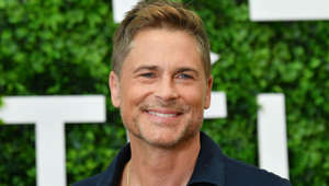 Rob Lowe smiling for the camera