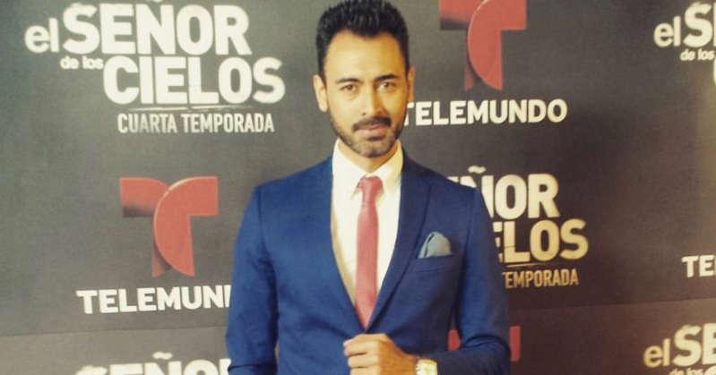 Fallece a los 41 años Sebastián Ferrat, uno de los actores del señor de los cielos
