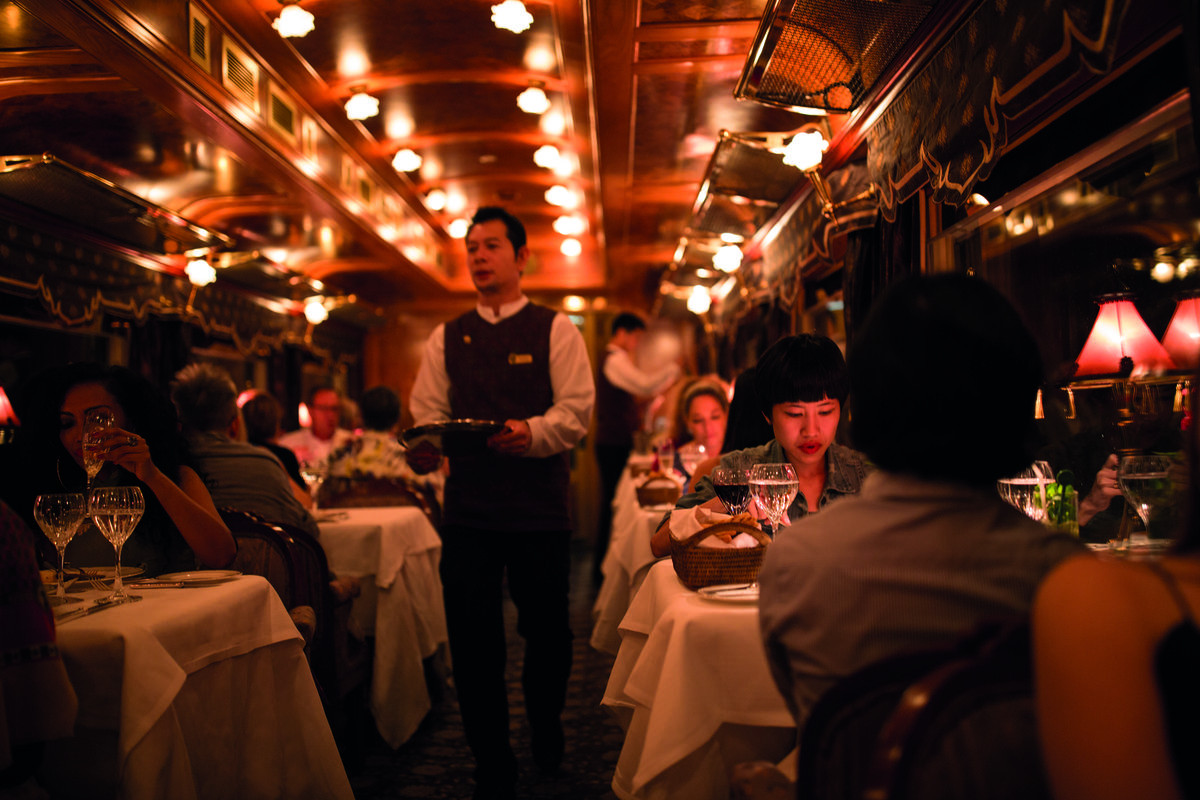 Slide 5 of 16: Spend New Years Even aboard Belmond's Eastern and Oriental Express. The three night journey, from December 29th, 2019 to January, 1st 2020, will depart from Singapore, head onto Kuala Lumpur, and arrive in Bangkok on December 31st. That evening return to the train for a celebratory dinner with Thai dance performances, a DJ, and fireworks. Belmond's Eastern and Oriental Express BOOK NOW