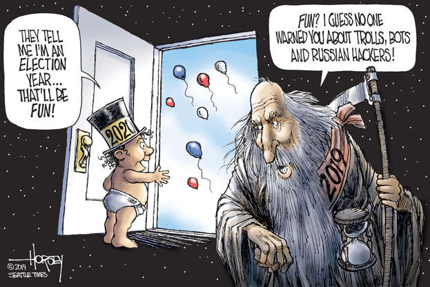 Slide 4 of 50: David Horsey/Seattle Times