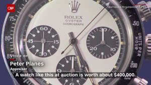 Man knocked off his feet when he learns his watch's value