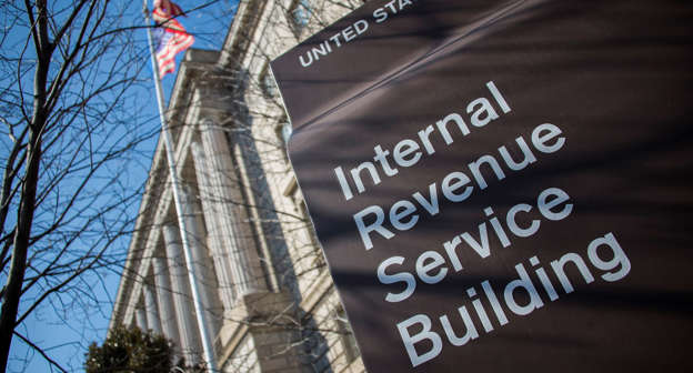 the internal revenue service irs building is viewed in washington dc february