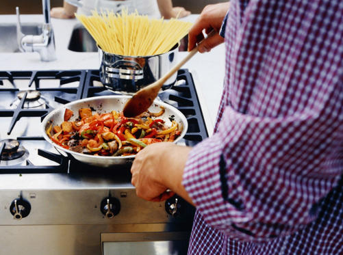 Slide 9 of 10: Cook with a mix of spices instead of salt. Try different recipes for baking or broiling meat, chicken, and fish.