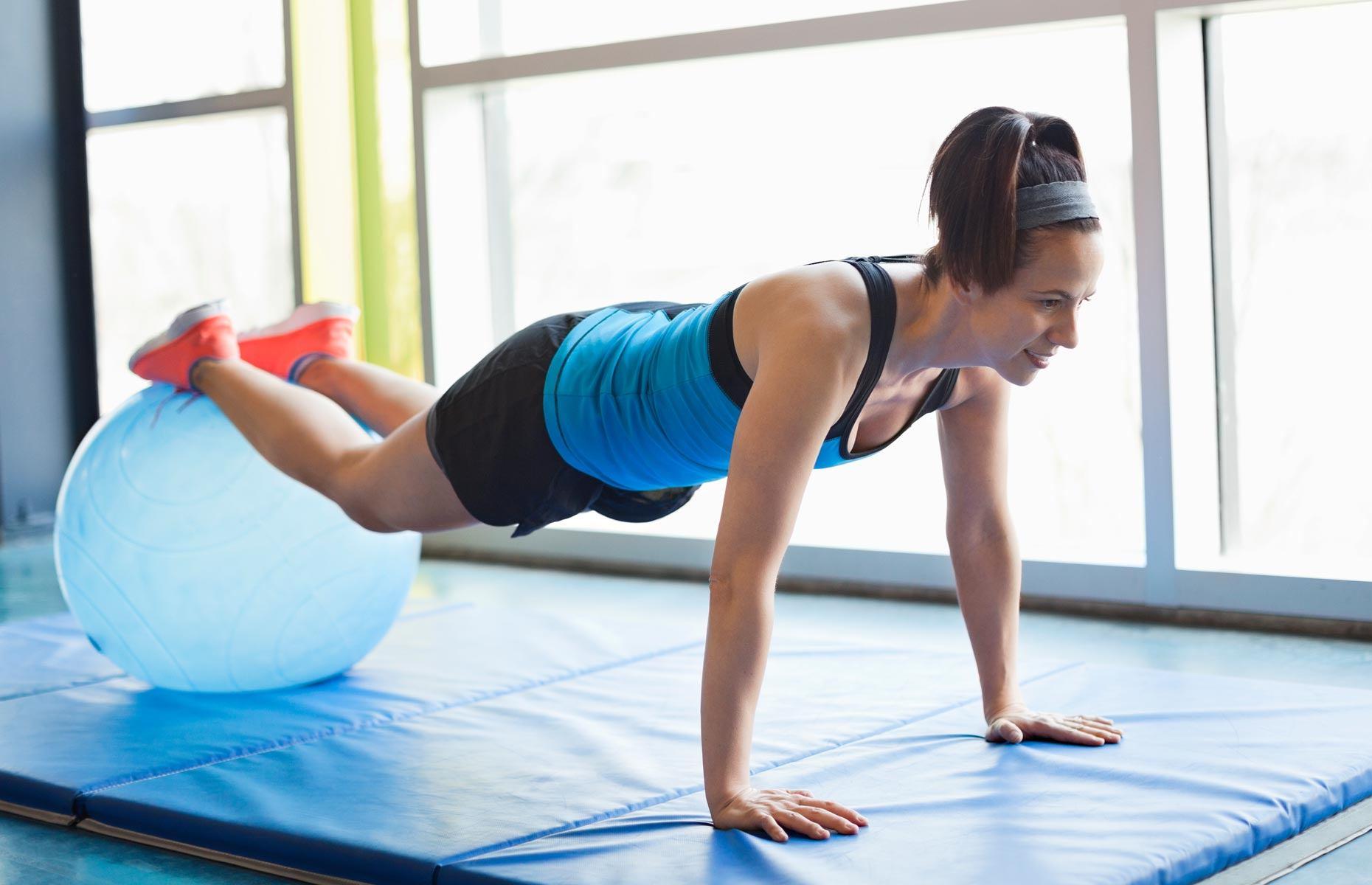 Latina coed workout 9