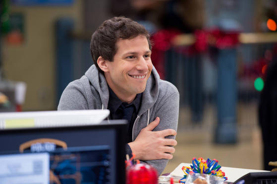 "Slide 12 of 12: Andy Samberg in a scene from ""Brooklyn Nine-Nine.""  Fox/AP Photo"