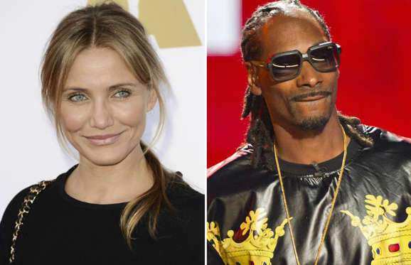 Cameron Diaz and Snoop Dogg
