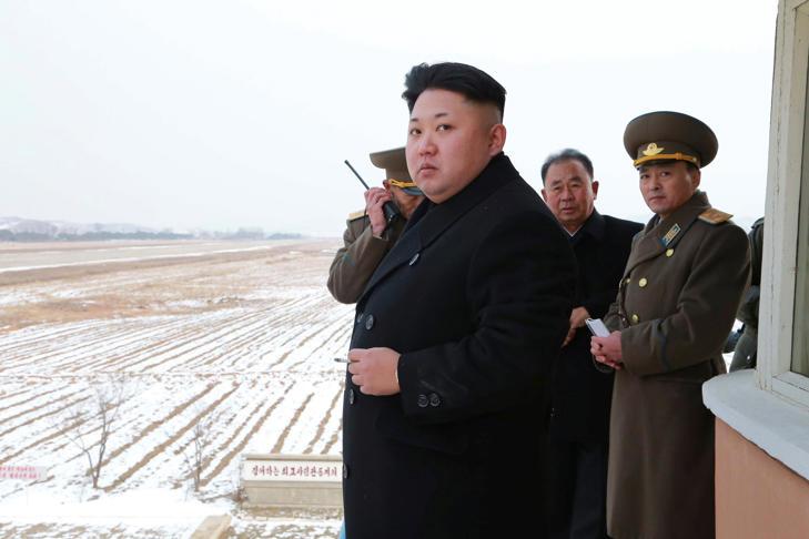 North Korean leader Kim Jong-un in Pyongyang, Dec. 8, 2014.