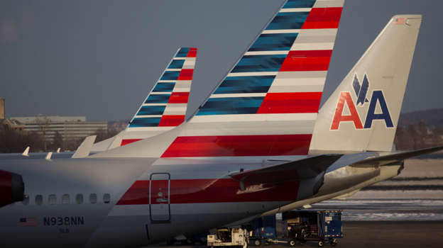 American Airlines planes - Andrew Harrer/Bloomberg/Getty Images