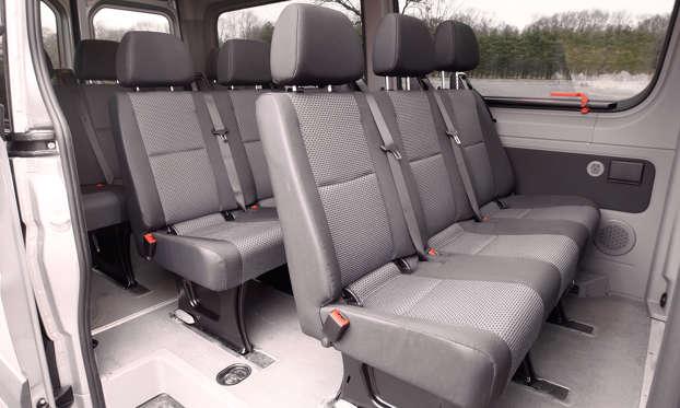 2012 Mercedes Benz Sprinter Van 2500 144 Wb Cargo Van Overview Msn