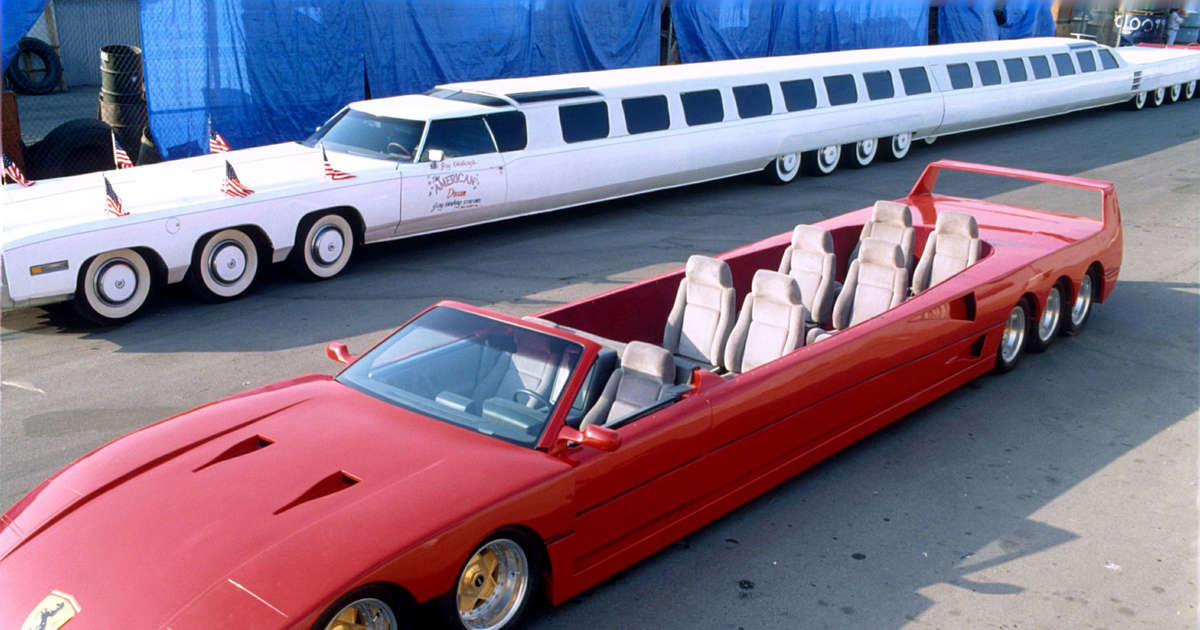 The world's most outrageous limousines