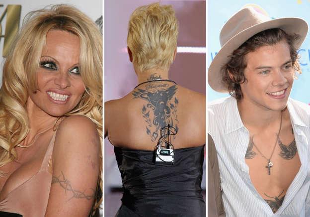 12702ecb68581 Revealed: the 10 worst celebrity tattoos