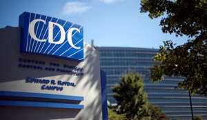 In this Tuesday, Oct. 8, 2013, file photo, a sign marks the entrance to the federal Centers for Disease Control and Prevention in Atlanta