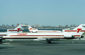 NWA Inc., parent company of Northwest Airlines, is negotiating to operate and eventually to own the Trump Shuttle at New York's LaGuardia Airport on Friday, March 8, 1991, according to a published report on Friday. The move would cost developer Donald Trump a major asset, but would help him reduce his debt, the Wall Street Journal said. (AP Photo/David A. Cantor)