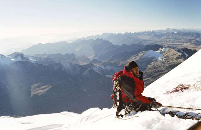 Διαφάνεια 3 από 24: Biking and ice-climbing in Bolivia