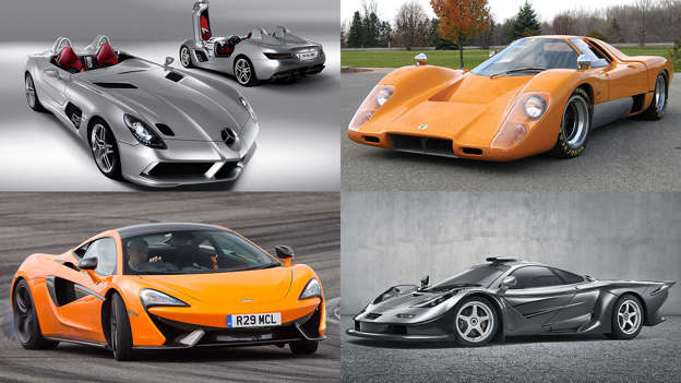 the history of mclaren road cars in pictures