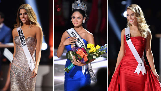 Miss Universe 2015 host accidentally reads out wrong name