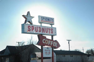 A Spudnuts in Amarillo, Texas.