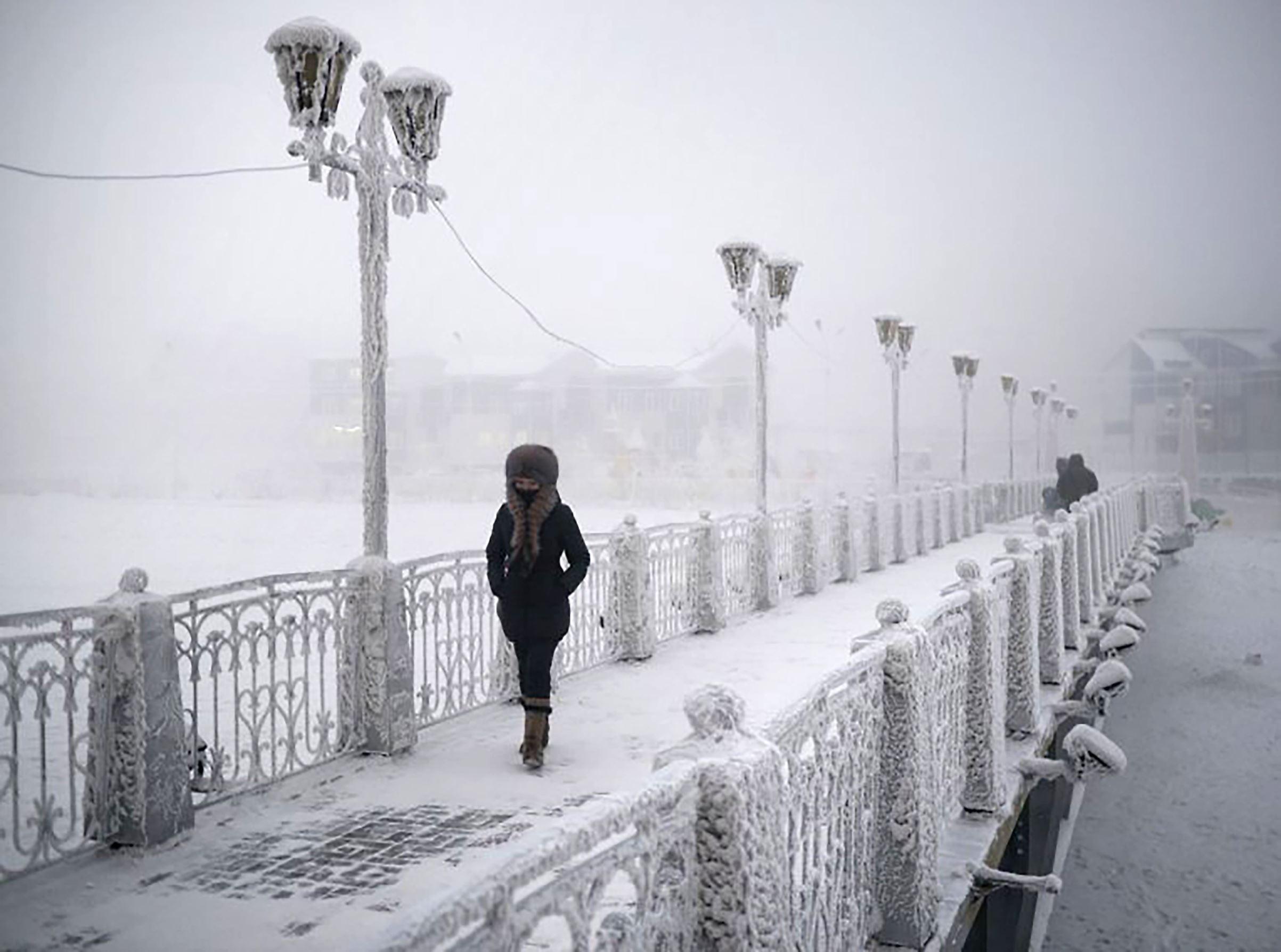 världens kallaste stad
