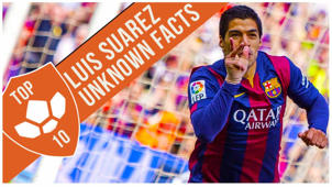 Luis Suarez: Top 10 Unknown Facts