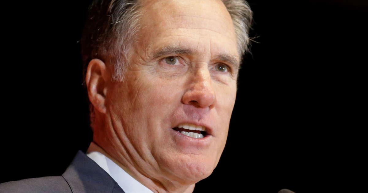 Romney to vote against Trump's emergency declaration