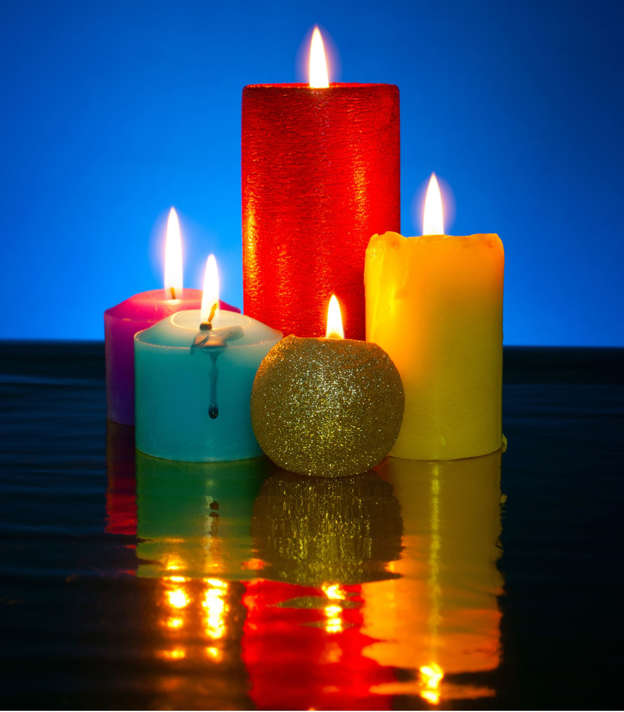 Candle Colors: Their meaning and uses