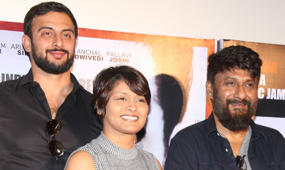 Arunoday Singh, Vivek Agnihotri And Pallavi Joshi At The Trailer Launch Of 'Buddha In A Traffic Jam'