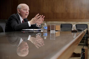 IRS Commissioner John Koskinen testifies at a Senate Appropriations Subcommittee hearing on the FY2017 budget for the Treasury Department on Capitol Hill in Washington March 8, 2016.