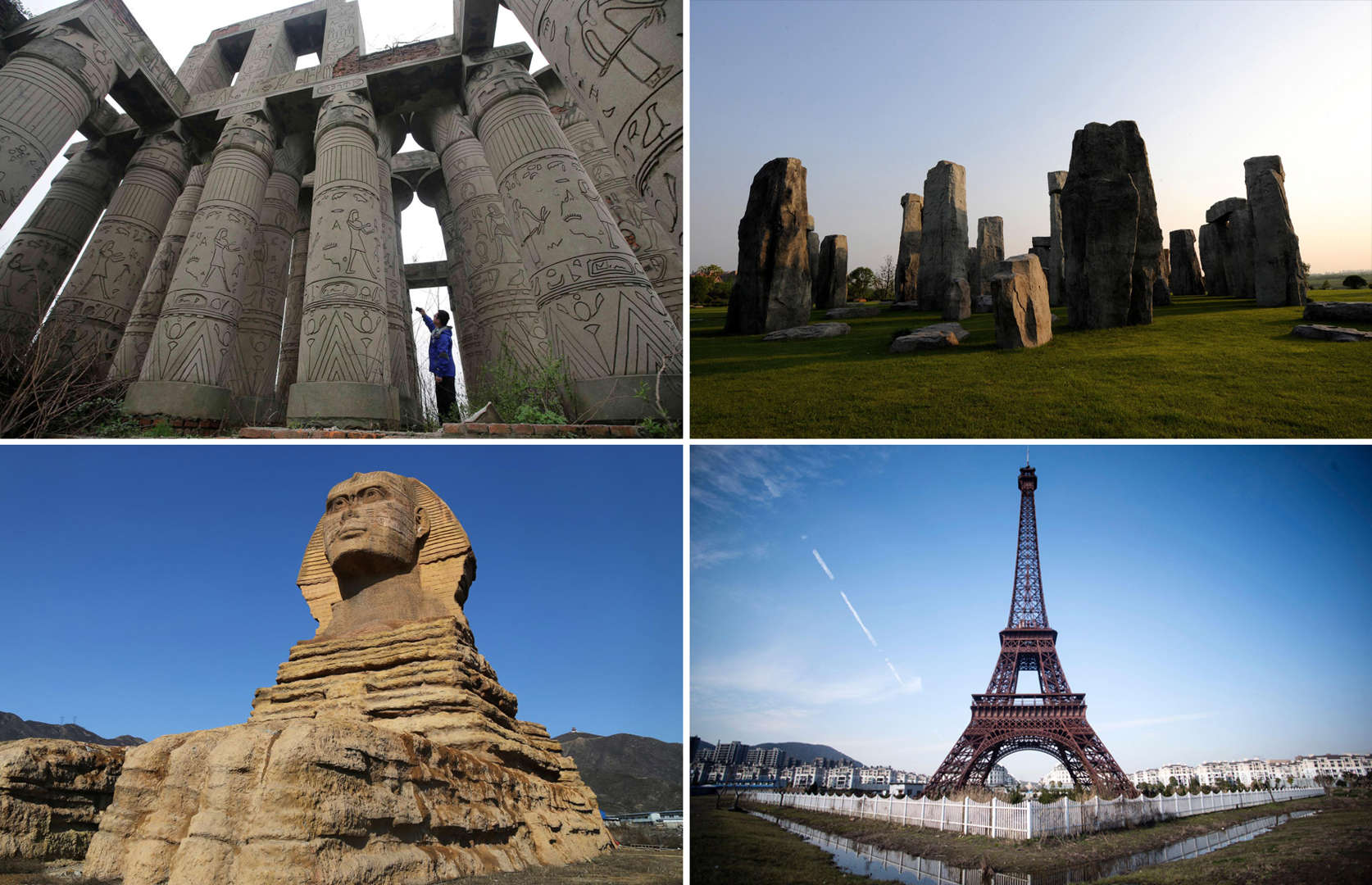 Famous fakes around the world: Replicas of popular tourist