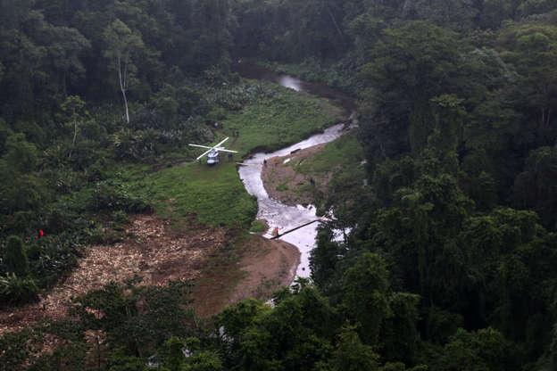 شريحة 12 من 16: سيوداد بلانكا مخبأة في غابات هندوراس بأمريكا الوسطى.  مملوءة بالذهب وفقا للفولكلور ، لها اسم