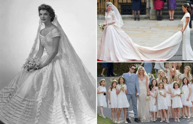 04b2caeac508 Kändisarnas bröllopsklänningar som vi aldrig glömmer
