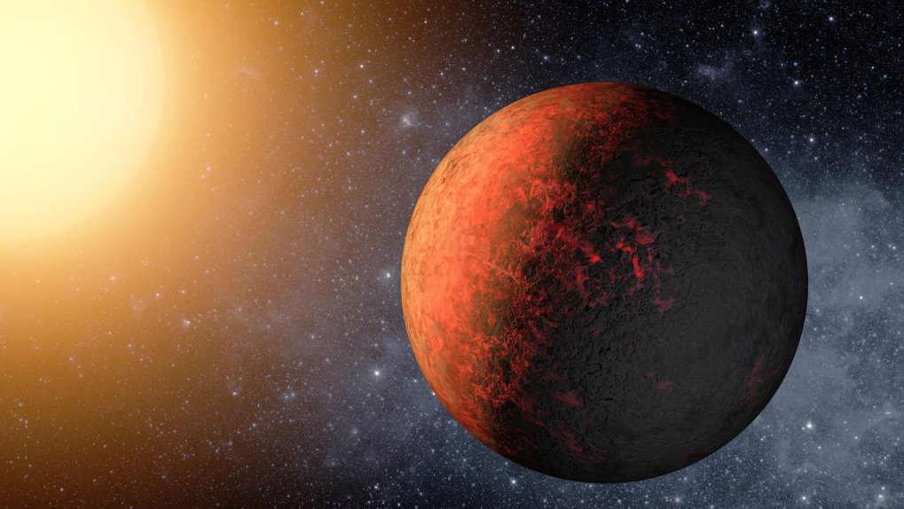 Image d'artiste transmise par la Nasa en décembre 2011 de l'exoplanète Kepler-20e afp.com