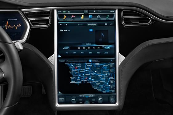 2016 Tesla Model S Interior Photos - MSN Autos