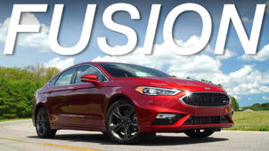 2017 Ford Fusion Road Test